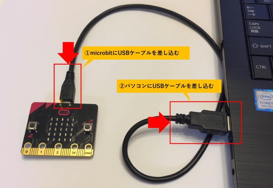 microbitの準備
