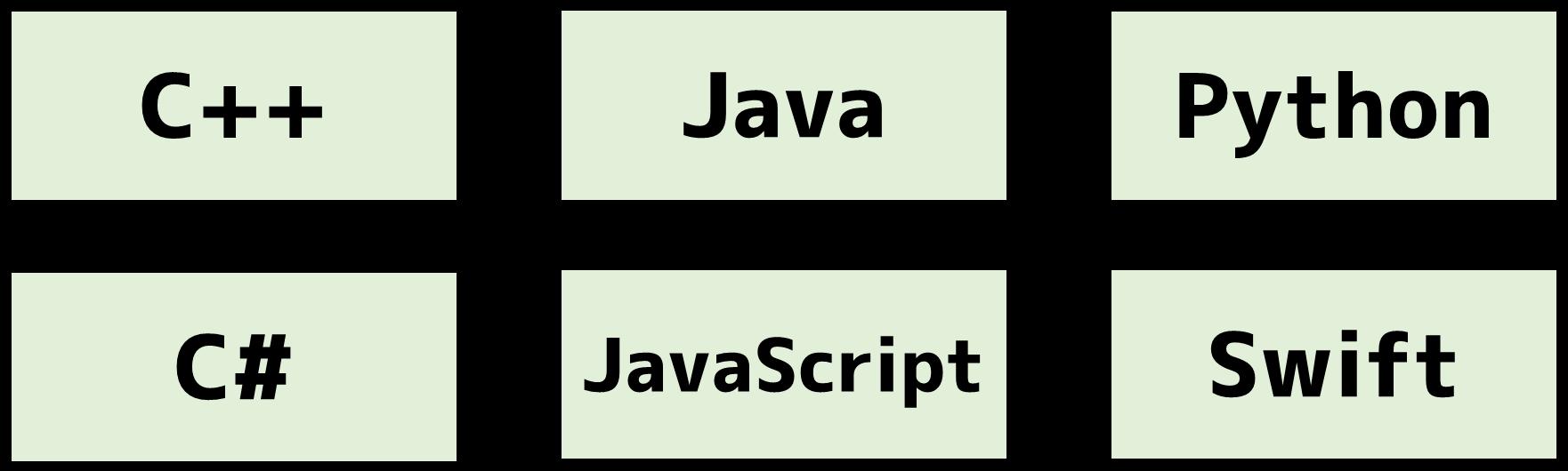 オブジェクト指向言語